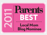 Parents Best Local Mom Blog Nominee