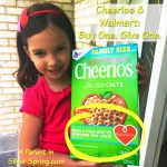 Cheerios and Walmart: Buy One. Give One.