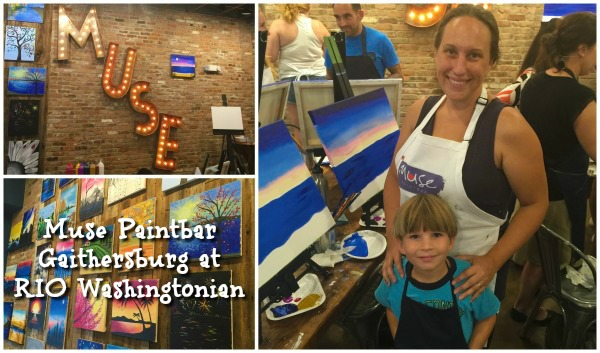 Muse paintbar gaithersburg 1