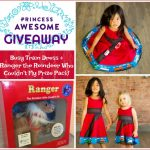 GIVEAWAY: Princess Awesome Busy Trains Dress + Ranger, The Reindeer Who Couldn't Fly Boxed Set