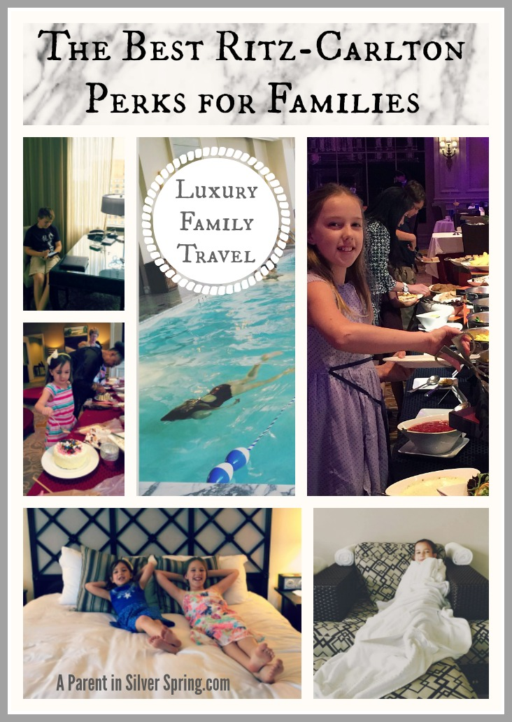 The Best Ritz Carlton Perks for Families