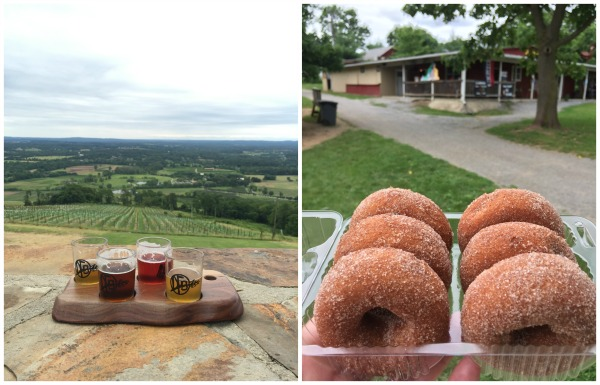 beer and donuts