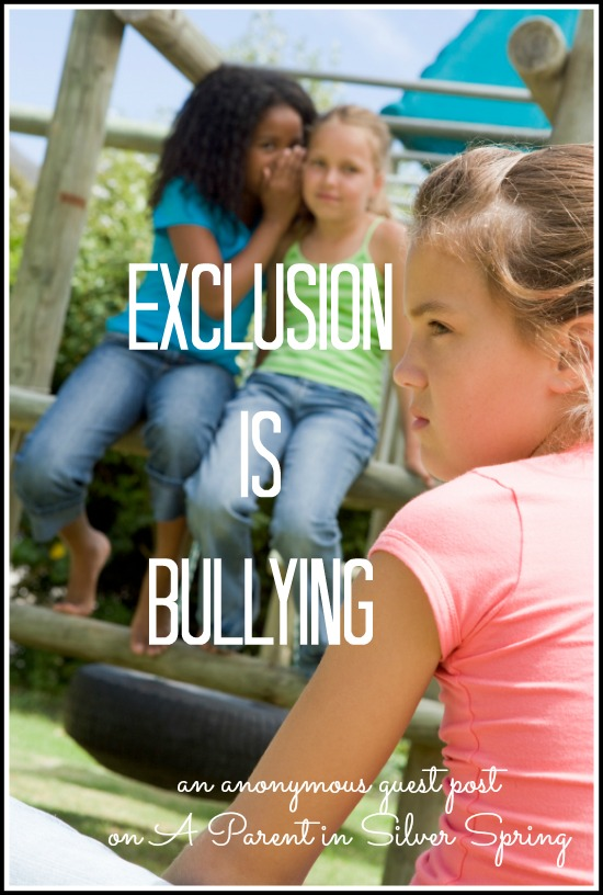 exclusion-is-bullying