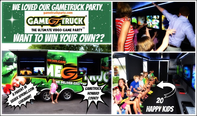 gametruck party giveaway
