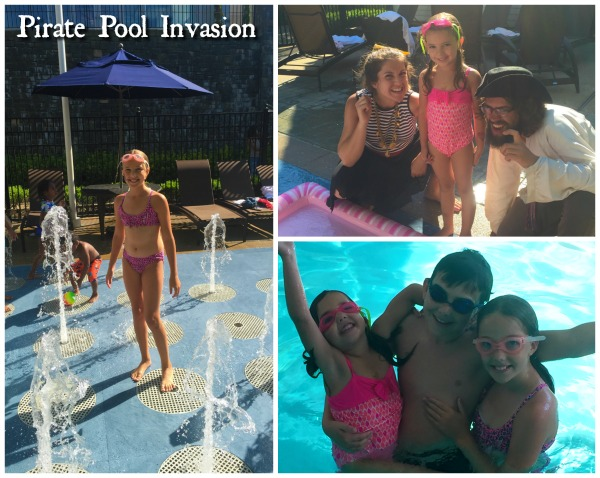 pool invasion