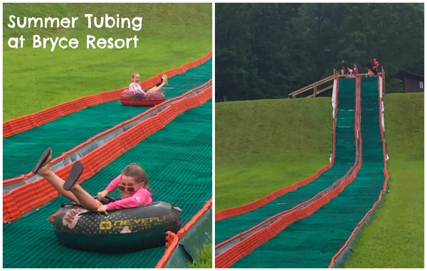 summer tubing bryce resort